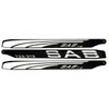 SAB TBS Carbon Fiber Main Blades - 725mm - 3 Blade Set - Goblin 770 / Urukay