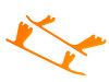 OXY4 - Landing Gear Skid - Orange - OXY 4