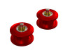 OXY4 - CNC Aluminum Belt Pulley Guide - Red - OXY 4