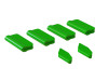 OXY5 - Landing Gear / Vertical Fin Protector (6pcs) - Green- OXY 5