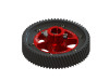 LYNX  Ultra CNC Main Gear Set - Red Devil Edition [LX0752] - GOBLIN 630 and larger