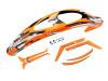 SAB Goblin RAW Canopy and Sticker Set - Orange - Raw 700