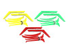SAB Goblin RAW Sticker Yellow/ Green/ Red- Raw 700 /Nitro