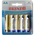 Maxell AA Battery (Blister Card) - 10 Pack