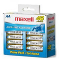 Maxell AA Battery (Blister Card) - 48 Pack