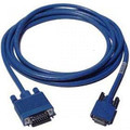 10' High density 26 pin serial to DB15 Female (DCE)(X.21)