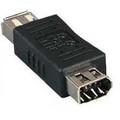 FireWire Adapter (9 Pin Female to 6 Pin Female) -