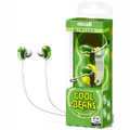 Cool Beans Stereo Earbuds - Green - Maxell