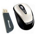 "Microsoft ""Wireless Notebook Optical Mouse 3000"" - USB - White -  OEM"