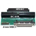 .8mm VHDC-F to IDC50M and HPDB68F Internal Adapter
