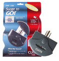 Curtis Surge Protector - $10,000 Warranty<BR>2 Outlets, EMI/RFI + Fax/Modem Protection<BR>452 Joules Protection
