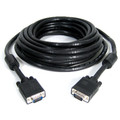 100' High Resolution Coax VGA Cable (HD15 M/M) with Ferrite -