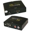 VGA + Audio to HDMI Converter -