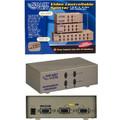 2 Way Controllable VGA Splitter<BR>High Resolution 2048 x 1536