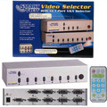 Smart View 8 Port VGA Switch with OSD Function & Remote Control<BR>