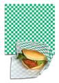 """Basket Liner Paper 12x12"""" Green"""