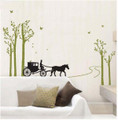 Trees, Horses Wall Decals