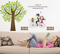 Trees, Boys, Girls Wall Decals