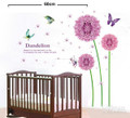Dandelion Flower Wall Decals