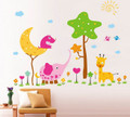 Animal Zoo Wall Decals