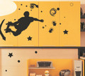 Skateboard Playing Wall Decals