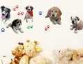 Dogs, Paws Wall Decals