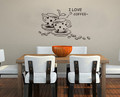 Coffee Cups Wall Decals