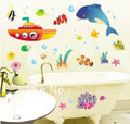 Animals in Ocean Wall Decals