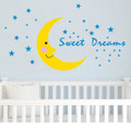 Moon, Stars Wall Decals