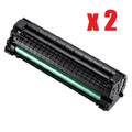 New Black Toner Cartridge Compatible with Samsung MLT-D101S  (Pack of 2)