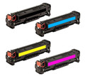 HP 312A New Compatible Toner Cartridges (1 set of 4)