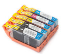 Canon New Compatible Ink Cartridges Value Pack (PGI-250XL+CLI-251XLBK/C/M/Y) (1 SET OF 5)