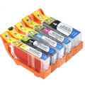 Canon PGI-220 & CLI-221 New Compatible Ink Cartridge Combo (2 Sets)