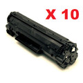 HP 35A (CB435A) New Compatible Black Toner Cartridge 10/Pack (Wholesale Pack)
