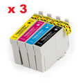 Epson T200XL New Compatible Cartridges (3 set of 4)