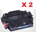 HP CF226x New Compatible Black Toner Cartridge (CF226x) (1 Pack of 2)