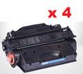 HP CF226x New Compatible Black Toner Cartridge (CF226x) (1 Pack of 4)