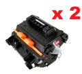 HP CF281A New Compatible Toner Cartridge (1 Pack of 2)