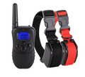 Pet Dog Training Collar for 2 Dogs - Waterproof & Rechargeable with LCD Shock Control