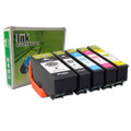 Epson T410XL Compatible Ink Cartridge Combo High Yield BK/PBK/C/M/Y