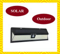 Waterproof Motion Sensor Solar LED Light for Outdoor (86 Led Light Bulbs) For Deck, Patio, Garden and Security Night Light