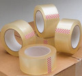 Clear Packing Tape - 48mm x 100 Yards -6 Rolls/ Case