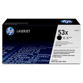 Original / Genuine HP 53X Q7553X  Black Toner Cartridge High Yield - Back side of Box Damaged