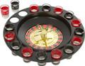 DRINKER Shot Glass Spinning Roulette Game Set, Drinking Game Set (2 Balls, 16 Glasses)