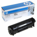 Original / Genuine HP Q2612A OEM Black Toner Cartridge