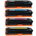 HP 128A New Compatible Toner Cartridge Set of 4 Colors