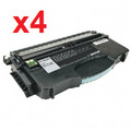 LEXMARK 12035SA Compatible Black Laser Cartridge (Pack of 4)