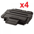 New Black Toner Cartridge Compatible with Samsung MLT-D209L  (Pack of 4)