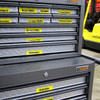 Tool box labeling