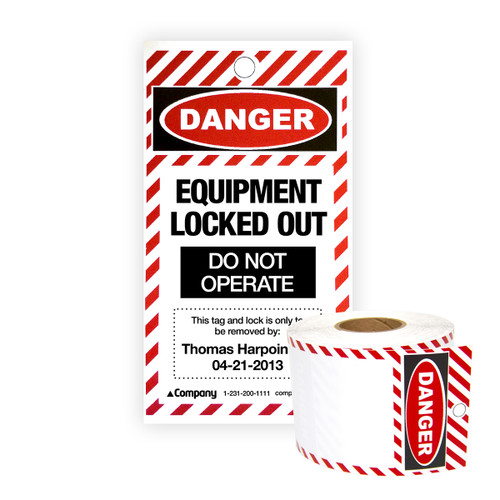 Lock Out/Tag Out Supply